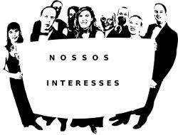 Pessoas Lutando Interesses